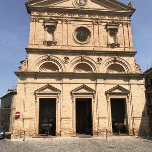 Dorpsplein van Montegranaro