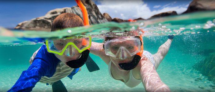 Snorkelen bij Due Sorrelle