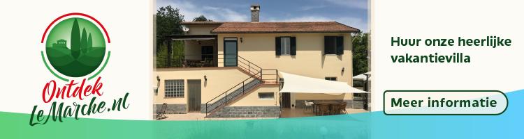 Ons heerlijke vakantiehuis in Italie, Le Marche is te huur deze zomer